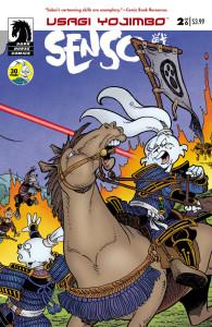Usagi Yojimbo Senso 2 Cover