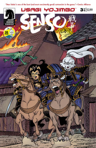 Usagi Yojimbo Senso 3 Cover