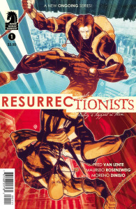 Resurrectionists 1 Cover