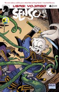 Usagi Yojimbo Senso 4 cover