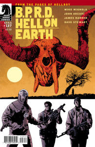 BPRD HoE127 Cover