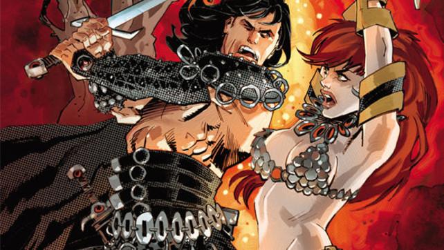 Conan and Red Sonja #1 from @darkhorse @dynamitecomics