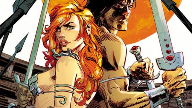 Conan – Red Sonja #3 Review from @DarkHorse Comics @DynamiteComics