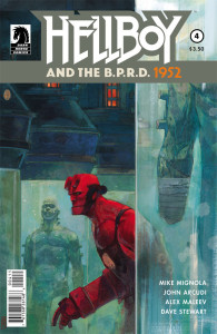 Hellboy and the BPRD 4 Cover