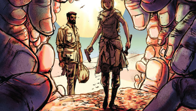 Burning Fields #4 Review from @BoomStudios
